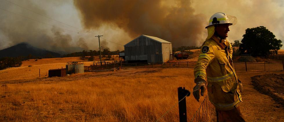 Australische Regierung: Es brennt halt