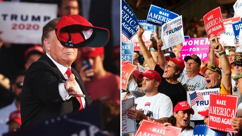 Gabriel Zucman: US-Präsident Donald Trump und seine Anhänger