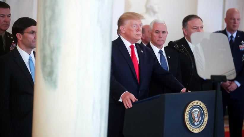 Iran-Konflikt: Donald Trump hat verstanden – vorerst