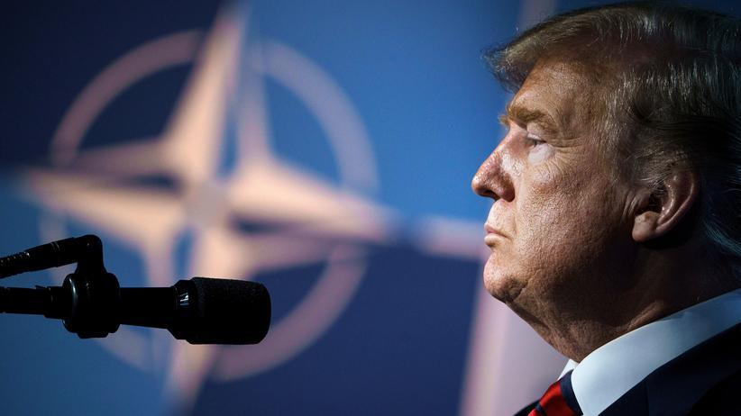 """""""Islamischer Staat"""": US-Präsident Donald Trump hat Pläne für die Nato."""