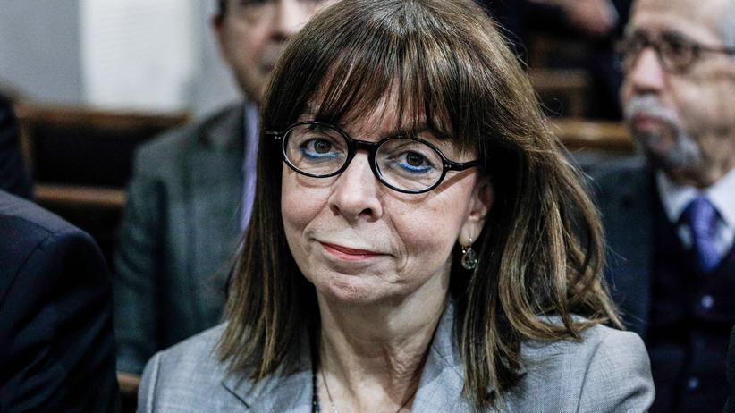 Ekaterini Sakellaropoulou: Ekaterini Sakellaropoulou wird neue Staatspräsidentin von Griechenland. Die 63-jährige Richterin war zuvor Präsidentin des Staatsrates.