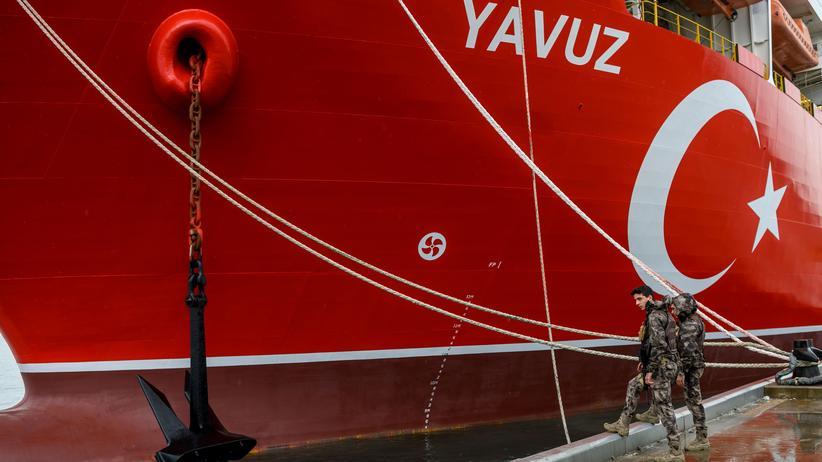 Erdgas-Streit : Zypern bittet Deutschland um Hilfe im Streit mit der Türkei