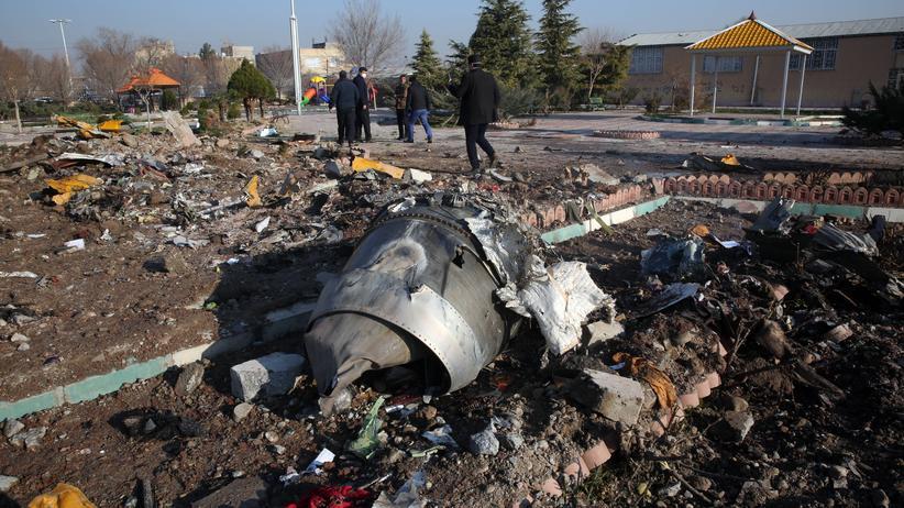 Flugzeugabschuss: Der Flugschreiber aus der abgestürzten ukrainischen Passagiermaschine könnte wichtige Daten enthalten.
