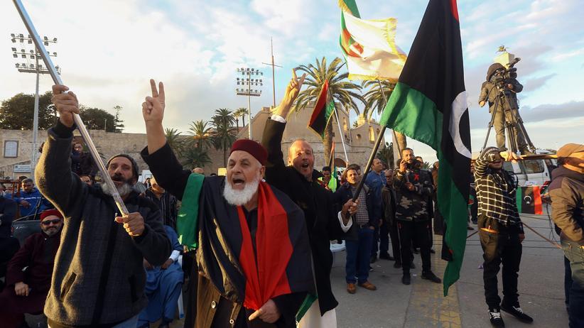 Libyen: Bislang waren Verhandlungen zu einer dauerhaften Waffenruhe in Libyen gescheitert.