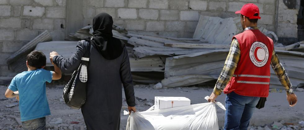 Vereinte Nationen: Sicherheitsrat verlängert Hilfslieferungen nach Syrien
