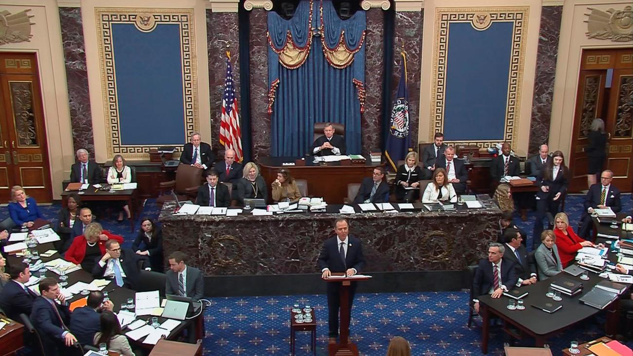 Impeachment-Verfahren: Ankläger rufen Senatoren zur Unparteilichkeit auf