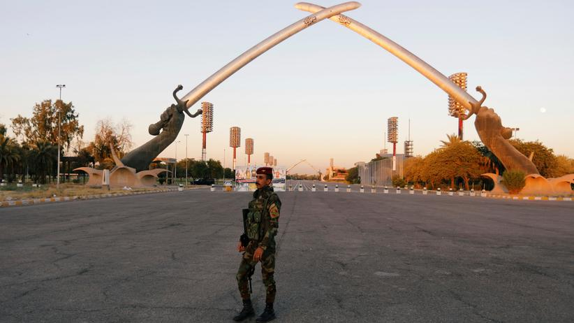 Nahostkrise: Grüne Zone in Bagdad erneut beschossen