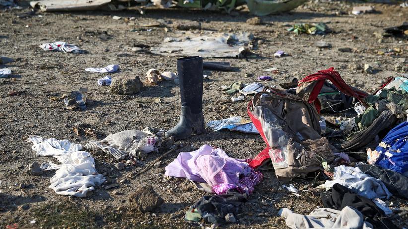 Iran: 176 Menschen starben, als das ukrainische Passagierflugzeug vergangene Woche Feuer fing, explodierte und abstürzte.