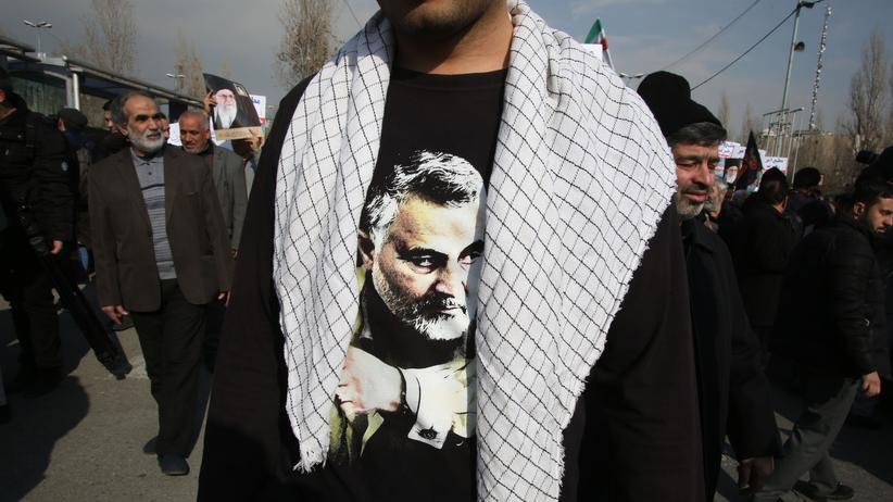 """Kassem Soleimani : Iran kündigt Reaktion """"am richtigen Ort zur richtigen Zeit"""" an"""