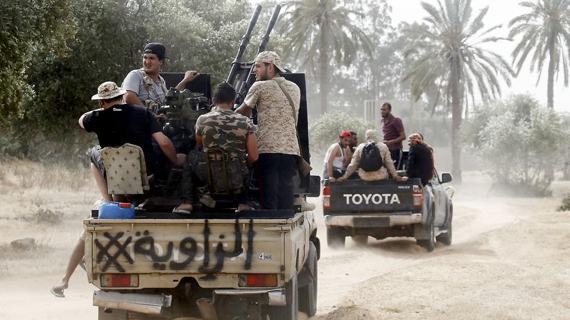 Libyen: Konfliktparteien werfen sich Bruch der Waffenruhe vor