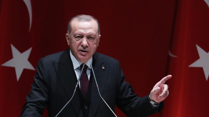 Nahost-Plan: Recep Tayyip Erdoğan wirft arabischen Staaten Verrat vor