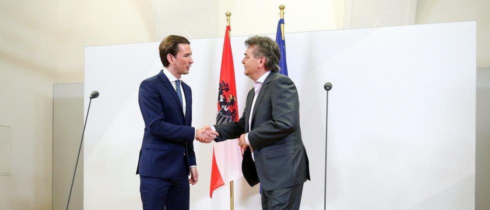 Österreich: ÖVP und Grüne einigen sich auf Koalition