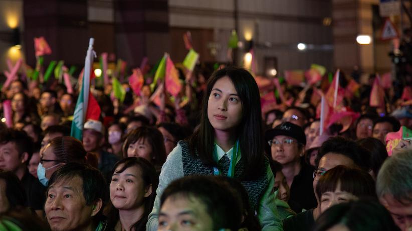 Taiwan: Sieger ohne Gratulanten