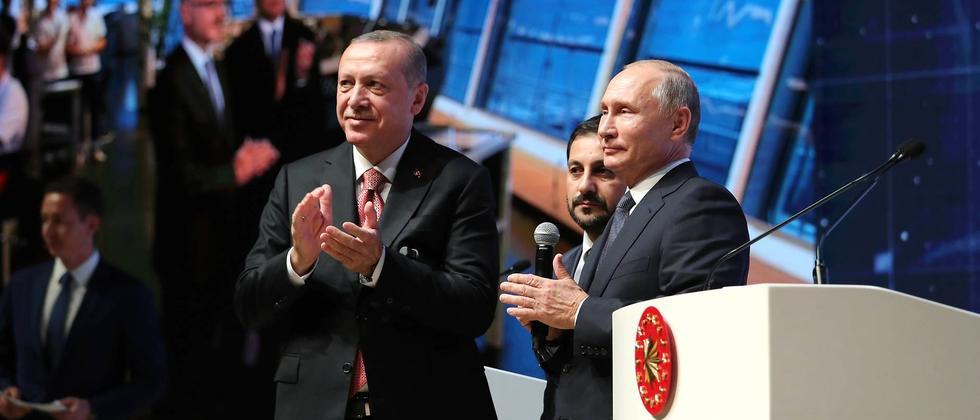 TurkStream: Erdoğans kühne Träume