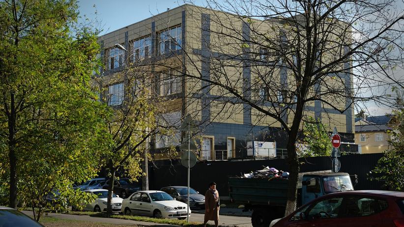 Ukraine-Affäre: Ein Gebäude eines Teils der Burisma-Gruppe in der ukrainischen Hauptstadt Kiew: 2014 wurde Hunter Biden, Sohn des ehemaligen US-Vizepräsidenten Joe Biden, Teil des Verwaltungsrats von Burisma.