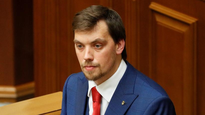 Ukraine: Oleksij Hontscharuk hat seinen Rücktritt als Ministerpräsident der Ukraine bekanntgegeben.