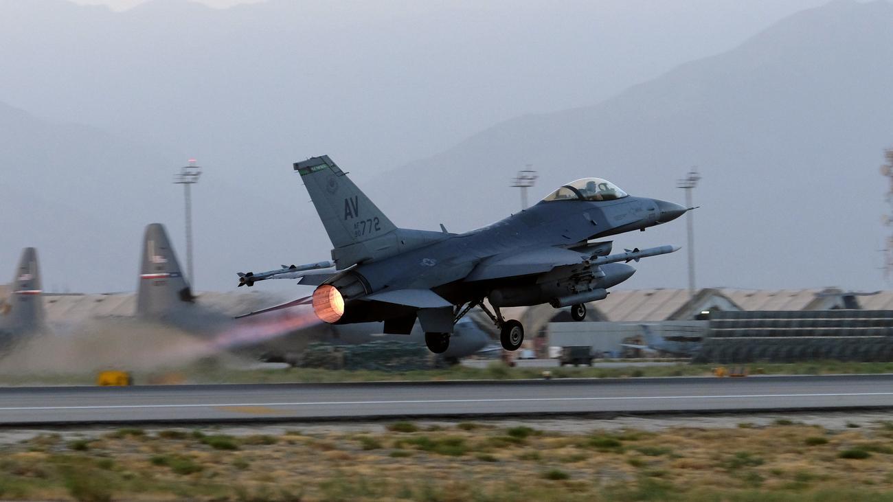 US-Luftwaffe: USA bombardieren Afghanistan so stark wie lange nicht mehr