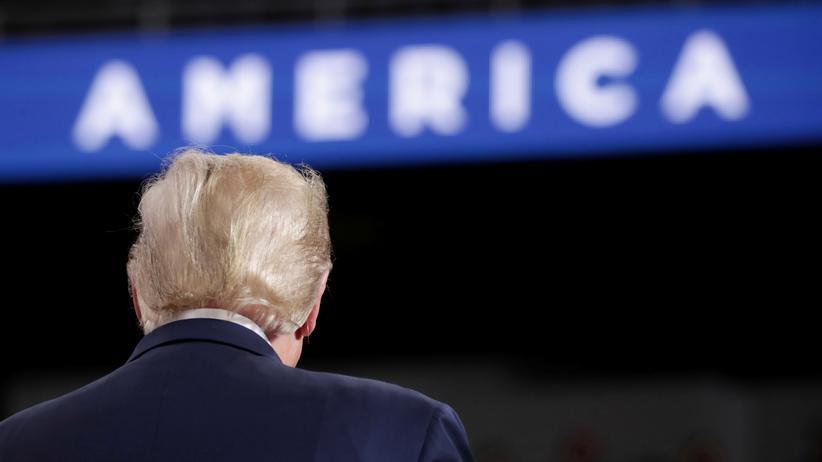 USA und Iran: US-Präsident Donald Trump während einer Wahlkampfveranstaltung in Toledo, Ohio