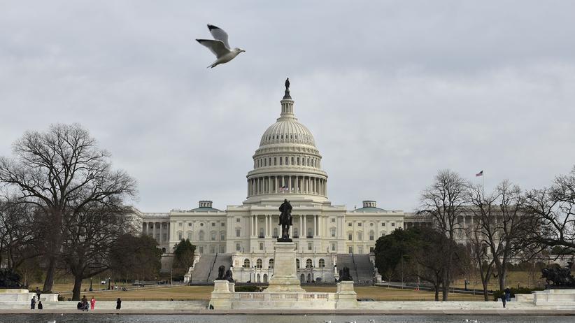 Impeachment: Das Kapitol in Washington