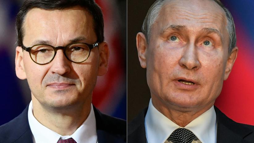Zweiter Weltkrieg: Ende Dezember verurteilte Polens Premierminister Mateusz Morawiecki Äußerungen des russischen Präsidenten Wladimir Putin, der westlichen Ländern wie Polen eine Mitschuld am Zweiten Weltkrieg gegeben hatte.
