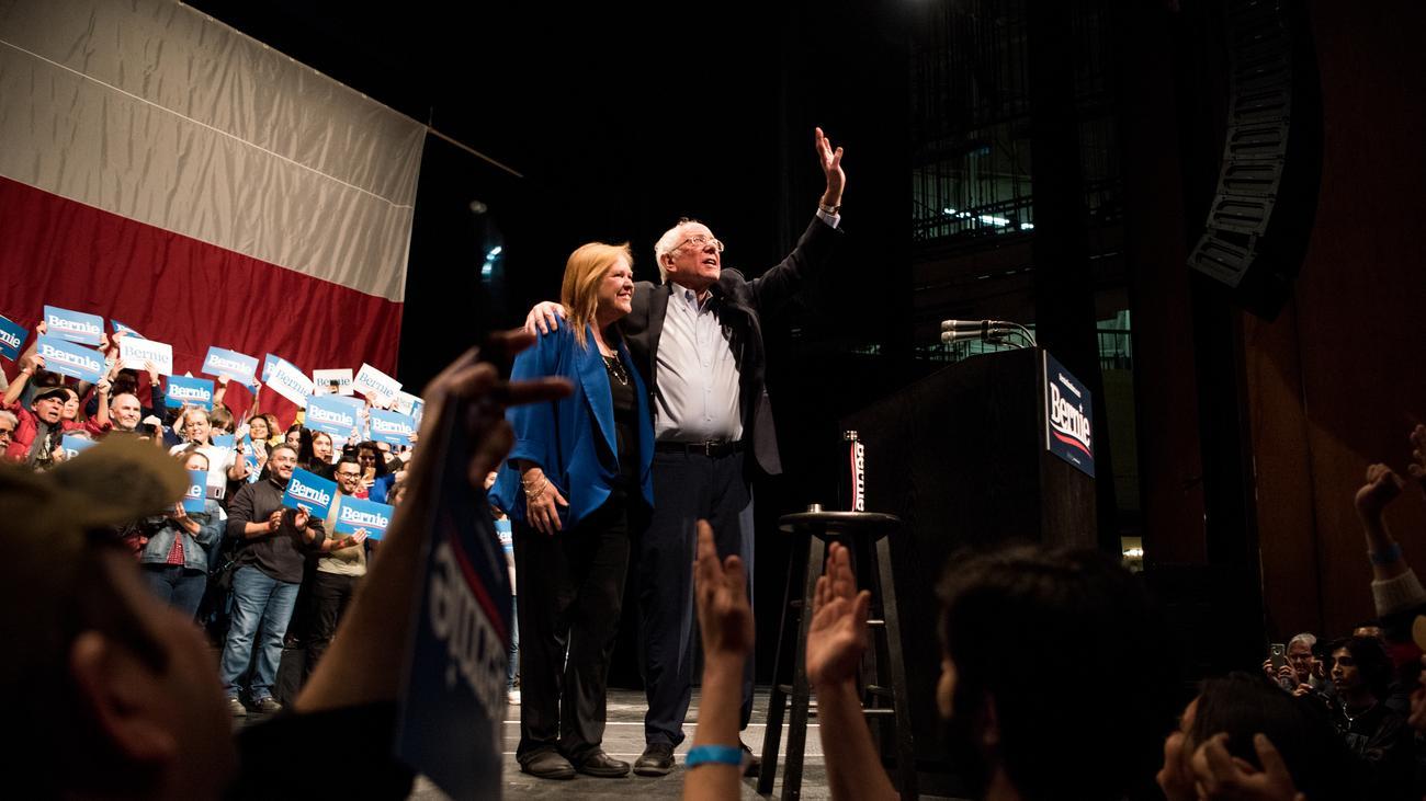 US-Vorwahlen: Bernie Sanders feiert mit großem Abstand Sieg in Nevada