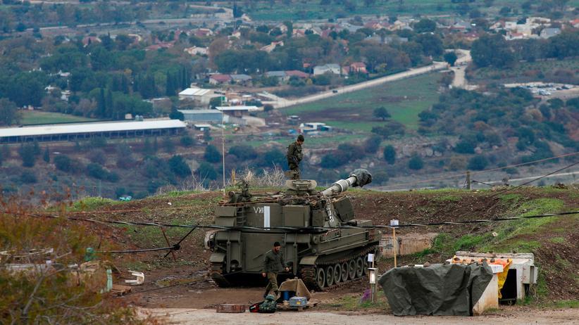Damaskus: Israelische Truppe auf den Golanhöhen an der Grenze zu Syrien