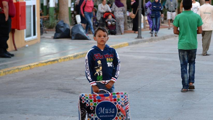 Flüchtlingspolitik: Syrische Migranten in der spanischen Exklave Melilla