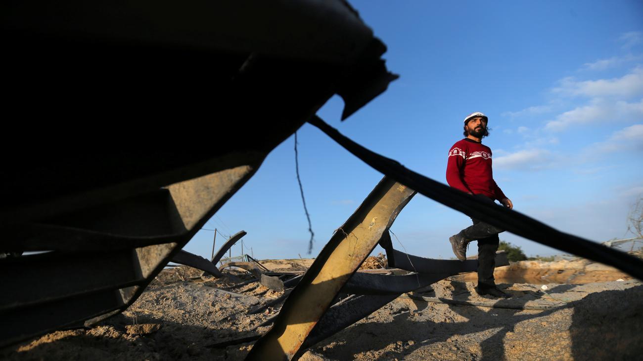 Gazastreifen: Israel reagiert mit Gegenangriff auf Raketenbeschuss der Hamas