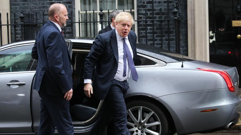 Großbritannien: Der britische Premierminister Boris Johnson baut sein Kabinett um.