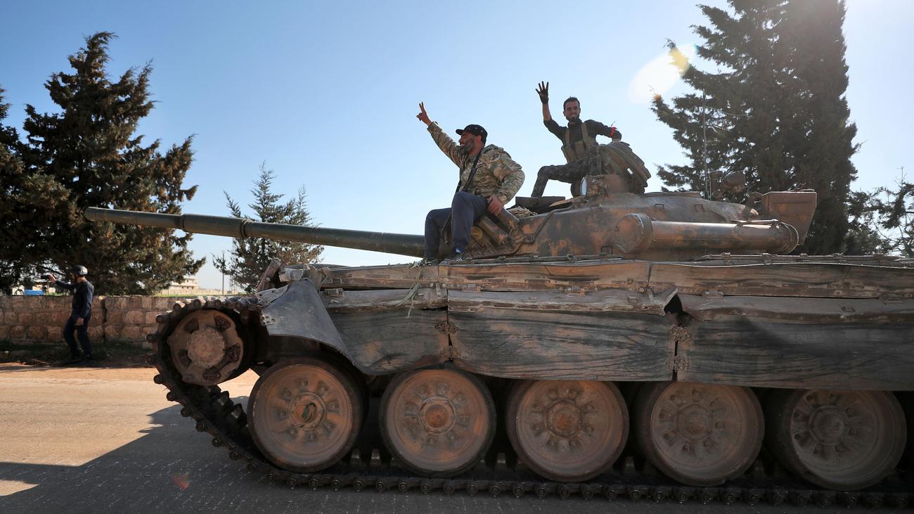 Idlib: Türkische Soldaten angeblich unter Rebelleneinheiten