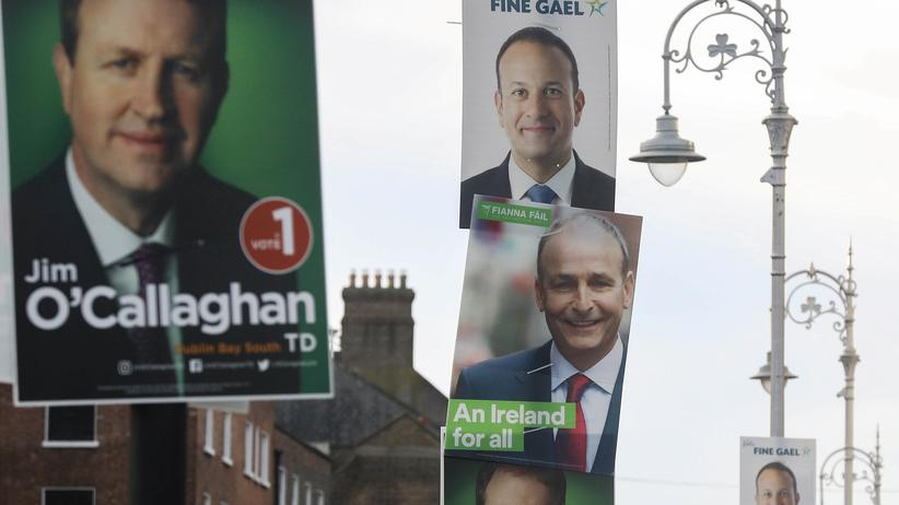 Irland: Sinn Féin liegt vor Parlamentswahl in Umfragen vorn