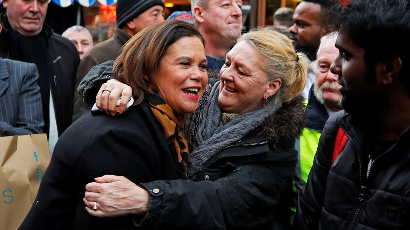 Wahlen in Irland: Mary Lou McDonald in Dublin