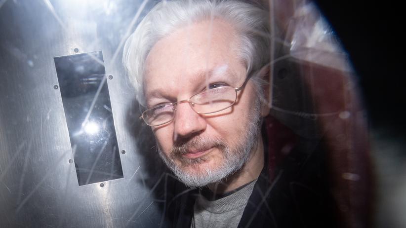 Julian Assange: Die Anklage gegen Julian Assange lautet auf Spionage. Er darf nicht ausgeliefert werden.