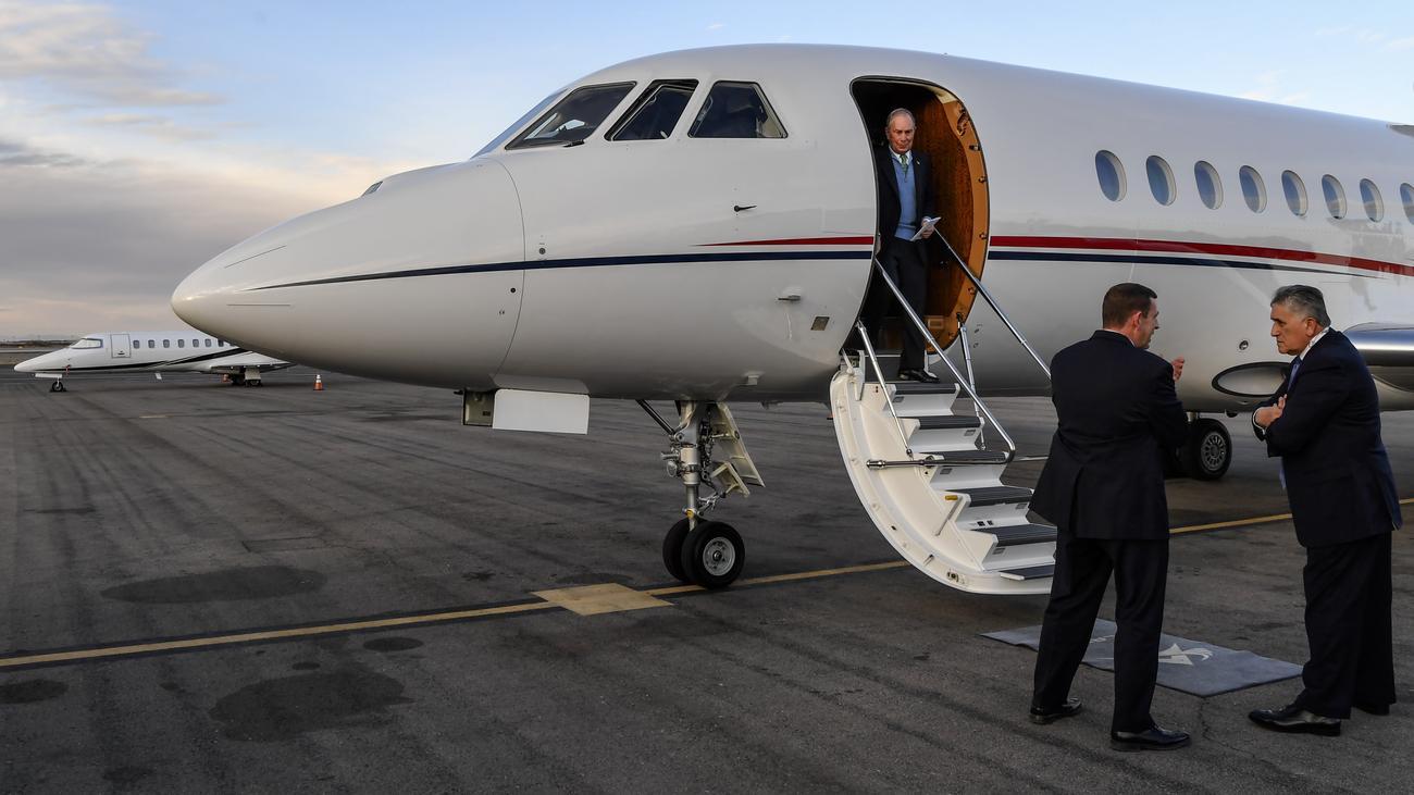 Michael Bloomberg: Er kauft sich einfach ein