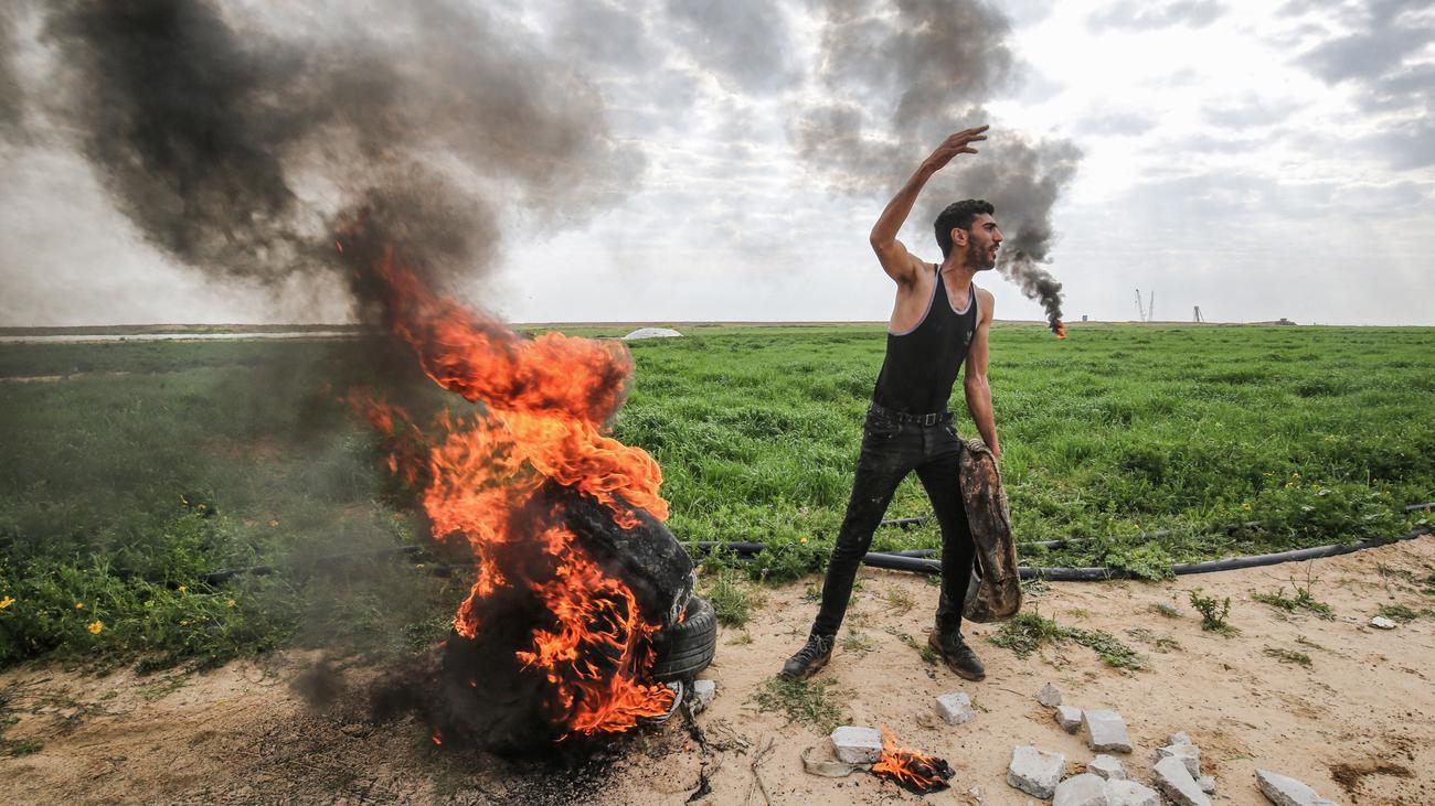Nahostkonflikt: Palästinenser feuern Raketen auf Israel