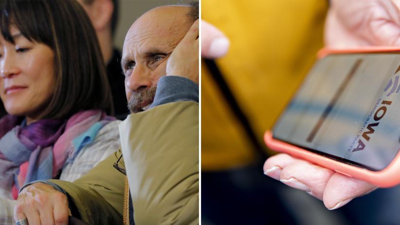 Iowa Caucus: Bei den Vorwahlen der Demokraten wurde erstmals eine App benutzt, die vorher nicht getestet worden war.