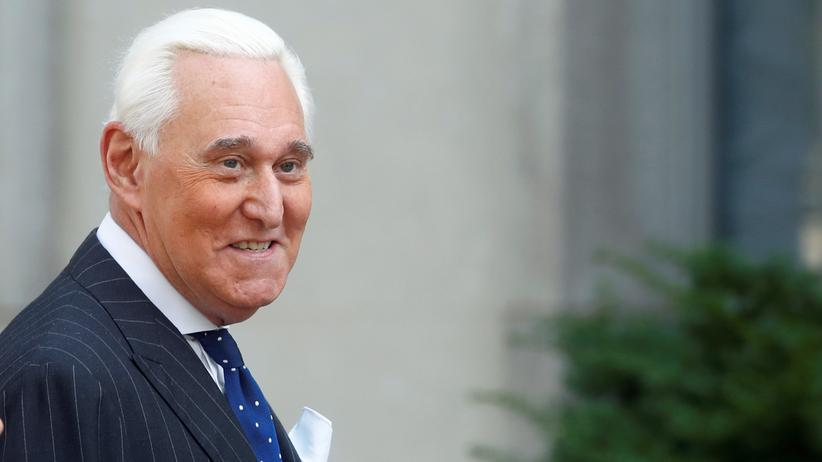 Roger Stone: Der frühere Berater und Trump-Vertraute Roger Stone im November 2019 in Washington, D. C.