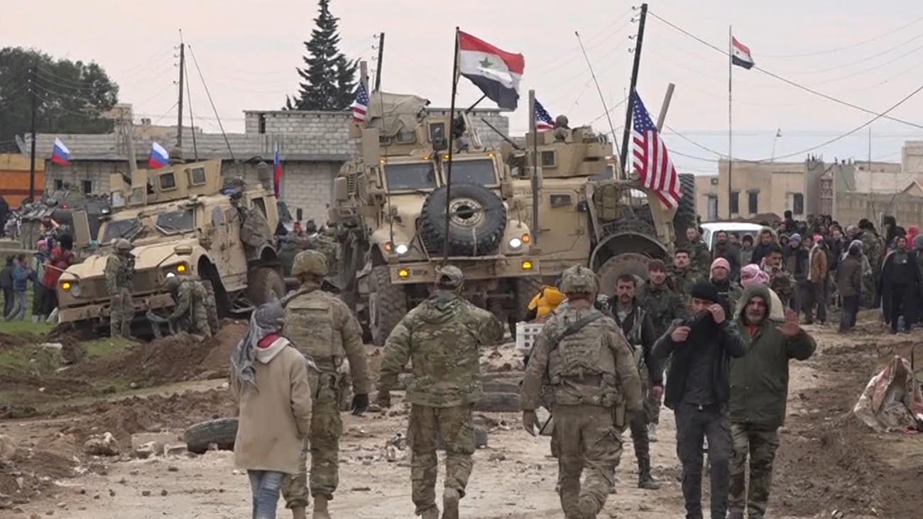 Syrien-Konflikt: Donald Trump fordert von Russland Zurückhaltung in Syrien