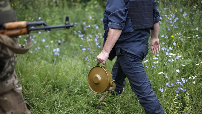 US-Militär: Landmineneinsatz im Osten der Ukraine (Archivbild)