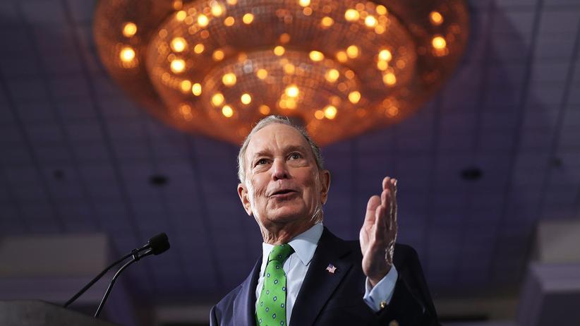 US-Wahlkampf: Milliardär Michael Bloomberg will Steuern für Reiche anheben