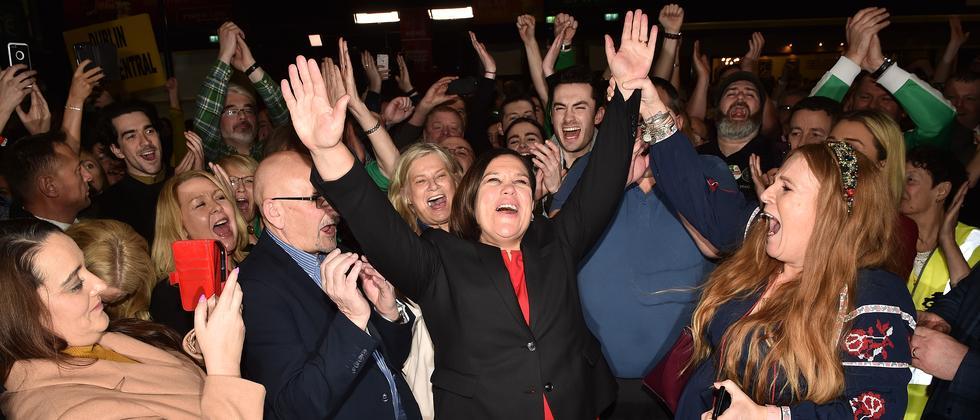 Wahl in Irland: Sinn Fein erklärt sich zum Wahlsieger