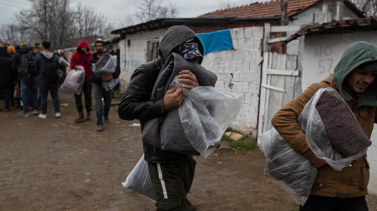 EU-Außengrenze: Brände in Lager an griechisch-türkischer Grenze ausgebrochen
