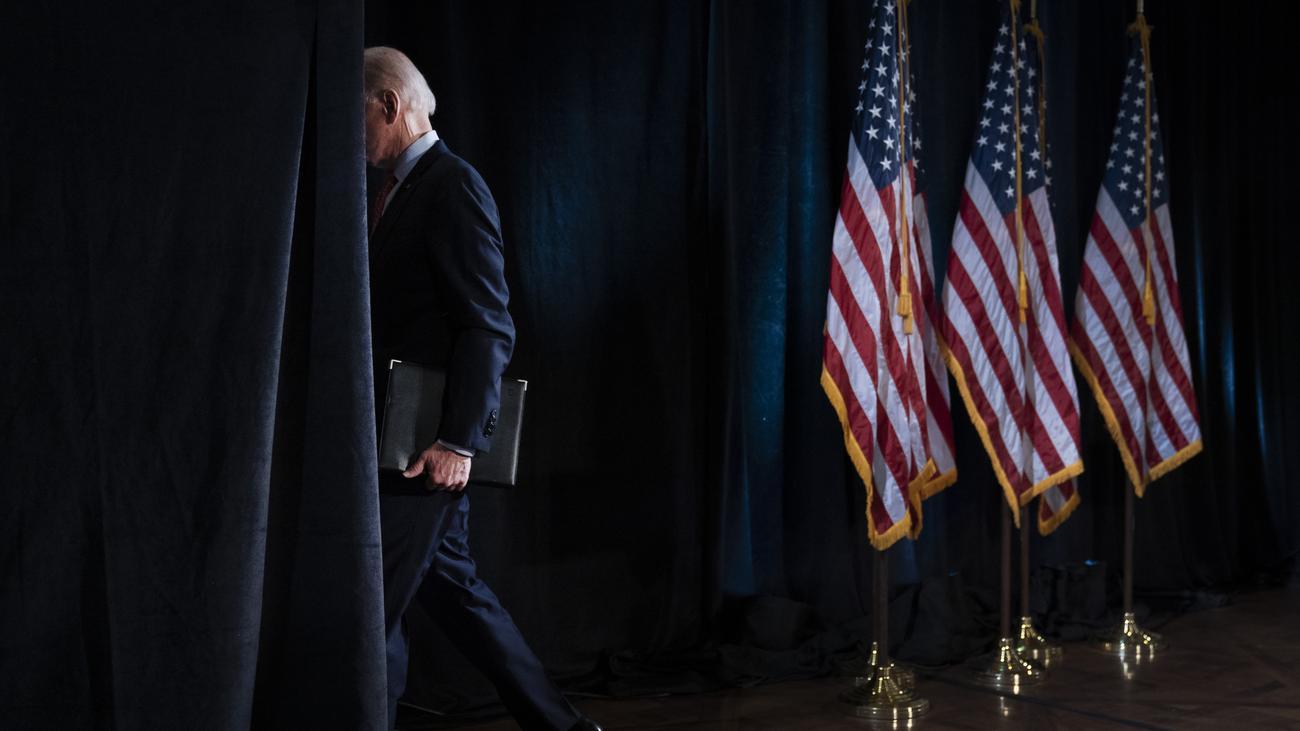 US-Wahl: Joe Biden allein zu Hause