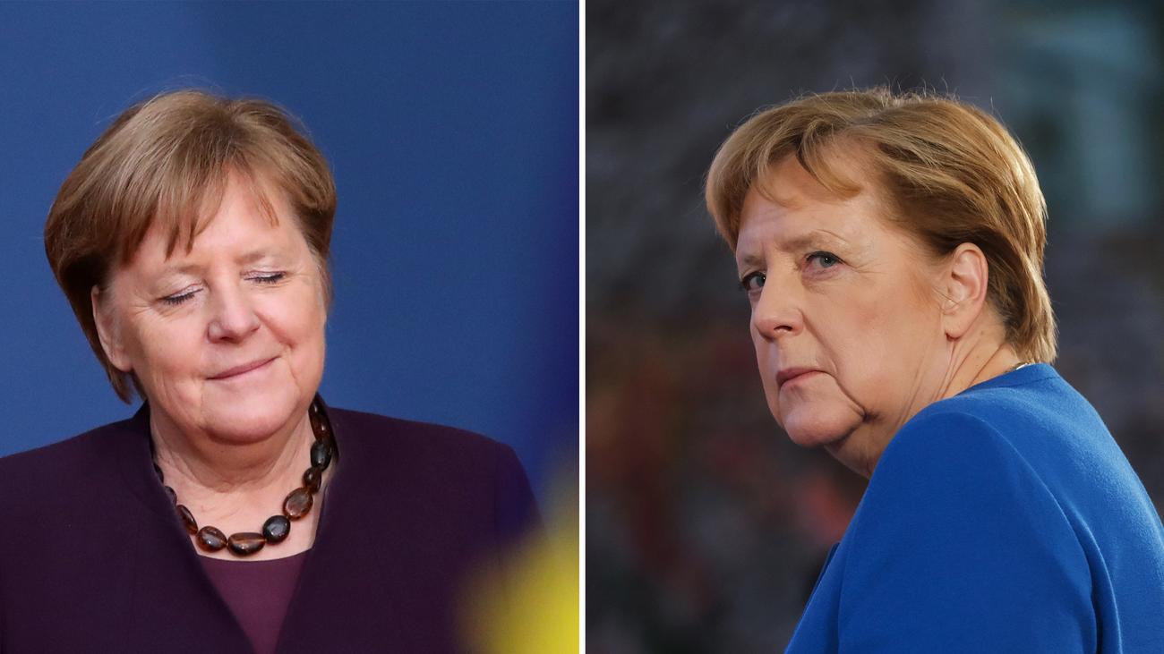 Die zwei Angela Merkels