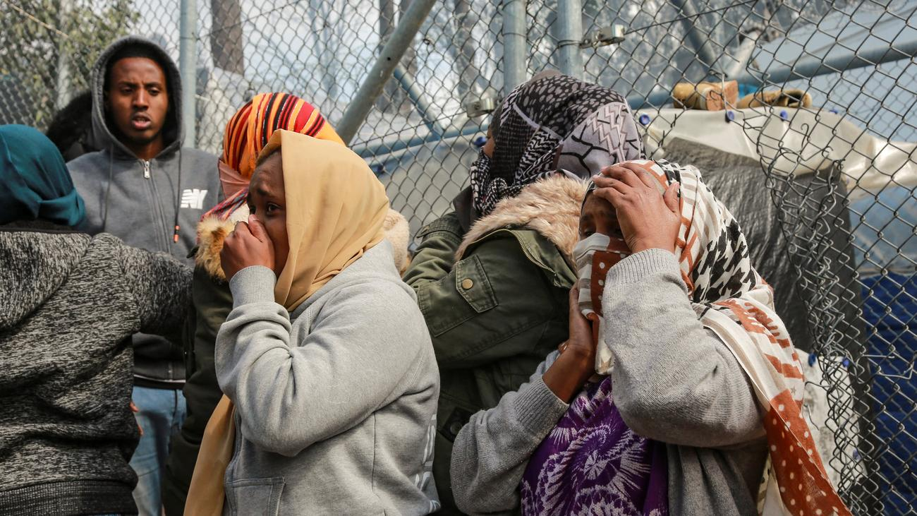 EU-Außengrenze: Angela Merkel spricht mit Erdoğan und Macron über Flüchtlingslage
