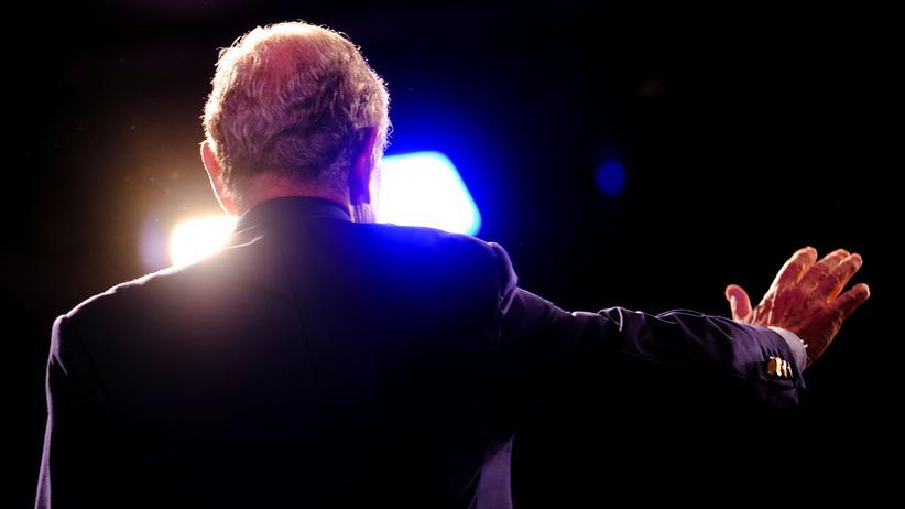 US-Vorwahlen: US-Milliardär Michael Bloomberg am Super Tuesday in West Palm Beach (Florida)