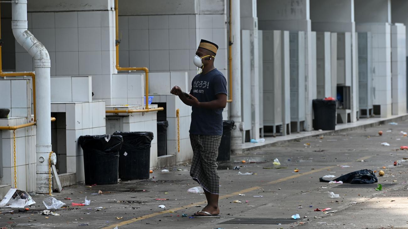 Corona-Epidemie in Singapur: Nur schwer zu beherrschen