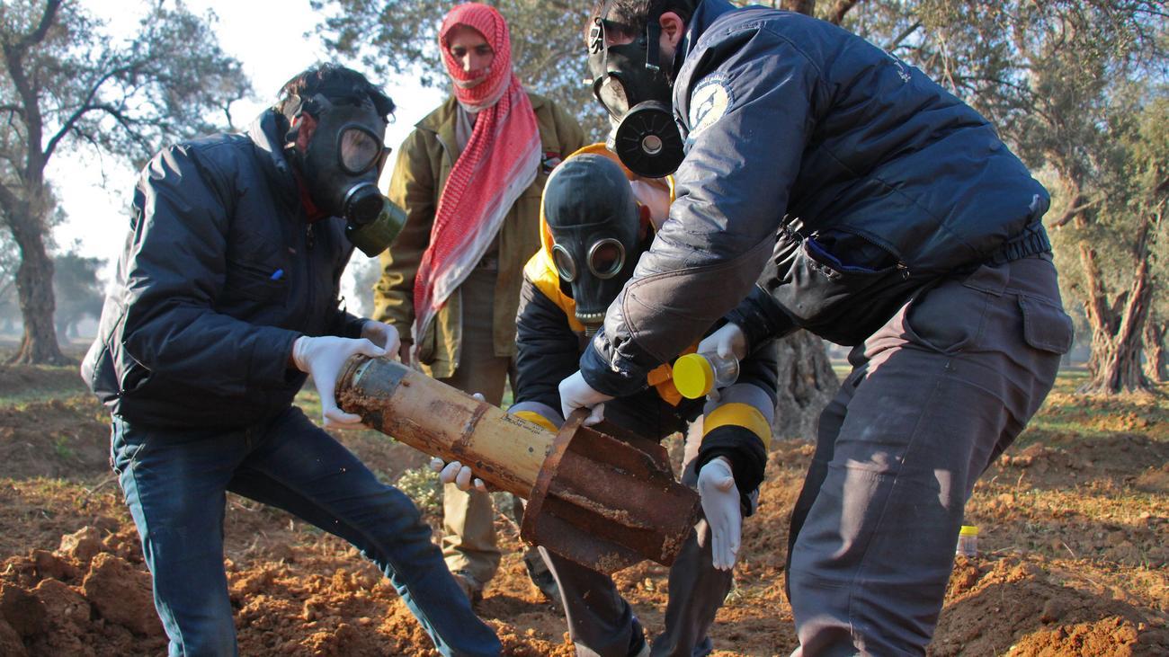 Syrien: OPCW gibt syrischer Luftwaffe Schuld an Chemieangriffen von 2017
