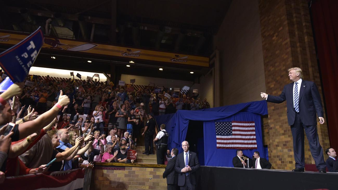 Donald Trump: Ohne Bühne kann er nicht