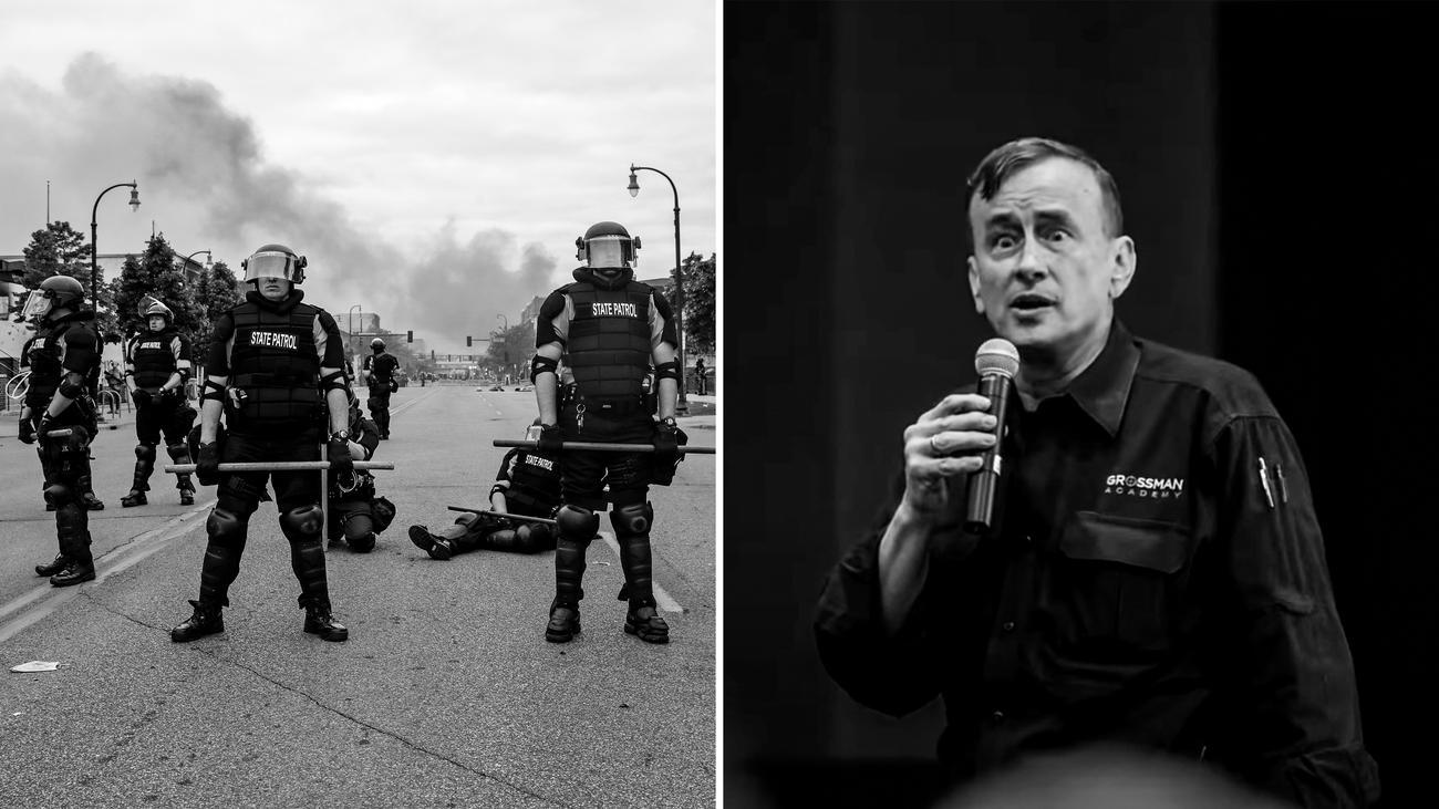 Dave Grossman: Er macht Polizisten zu Kriegern